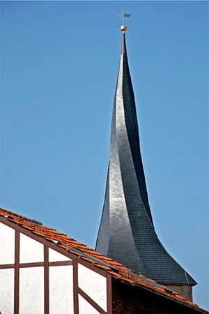 Gedrehter Turm